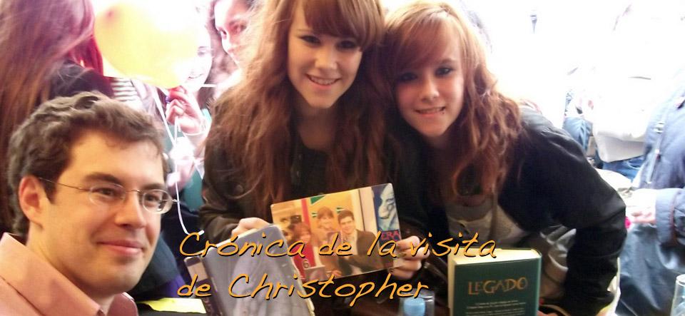 Crónica de la visita de Christopher Paolini a España